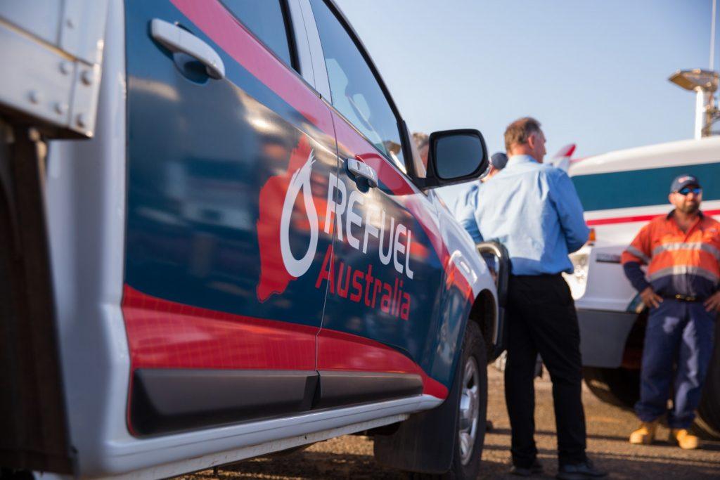 Refuel Australia Ute and Fuel Truck