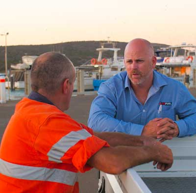 People from Refuel discussing Fuel Distribution in Western Australia
