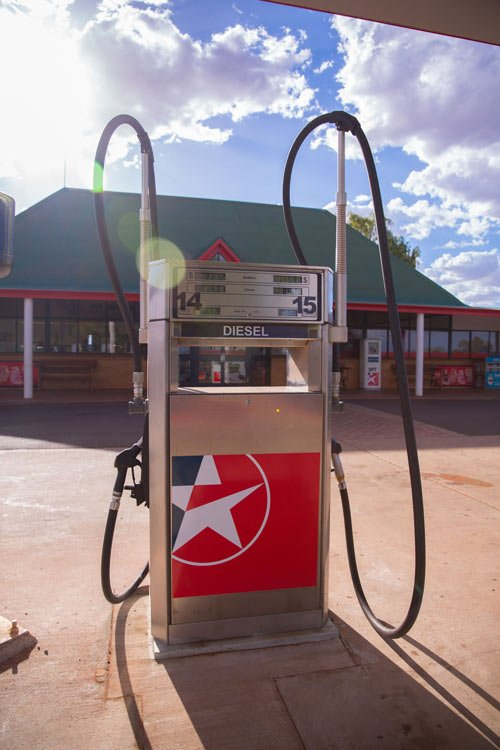Fuel Pump at Roadhouse