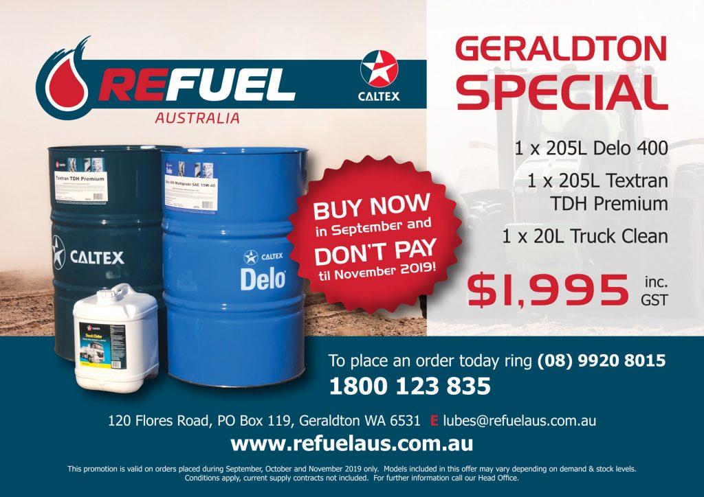 Geraldton Fuel Special